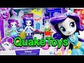 My Little Pony Equestria Girls Minis Switch N Mix Fashions Play Set Bald Rarity Eek! QuakeToys