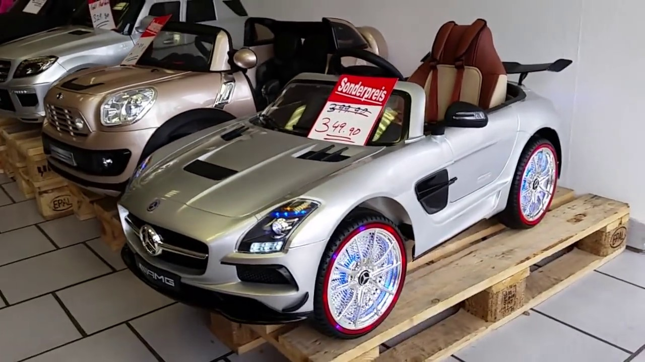 kinderauto mercedes benz sls amg specialedition like fast. Black Bedroom Furniture Sets. Home Design Ideas