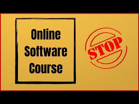 Software Online Software Course has been Stooped