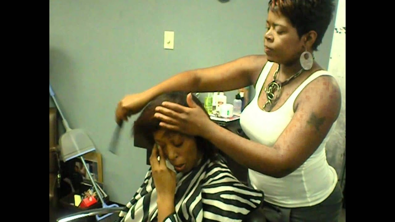 diva styles salon dallas tx before n after clients video 2 - youtube