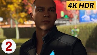 Partners. Ep.2 - Detroit: Become Human [4K HDR]
