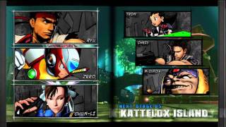 Marvel Vs Capcom 3 Arcade Mode (Part 3 Ryu,Zero,Chun-li)