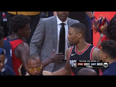 Jrue Holiday&AD Swept Blazers&Lost Damian Lillard(Dame Looks Humble Ends The Playoffs!)
