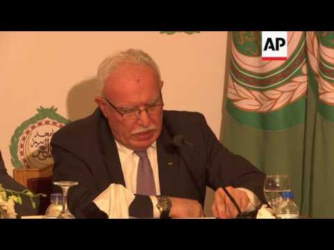 Arab League FMs discuss Jerusalem tensions