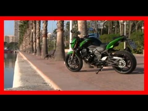 Kawasaki Z750 R Test