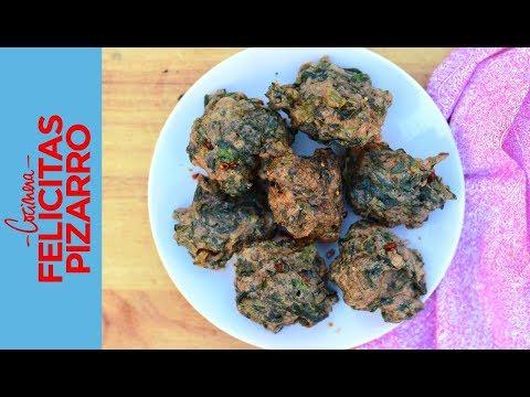Buñuelos de Acelga Gluten Free! | Felicitas Pizarro