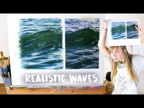 How To Paint Realistic Water | Oil Painting Tutorial