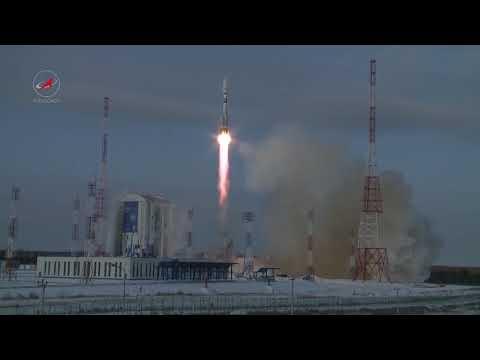 Soyuz Blasts Off from Vostochny with Meteor Weather Satellite