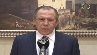 الجزائر روسيا الرئيس بوتفليقة يستقبل وزير الخارجية الروسي