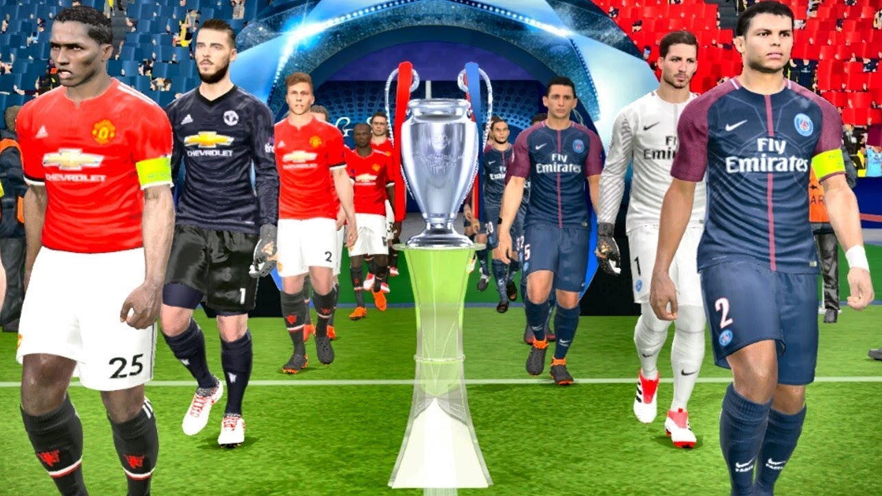 Image result for UEFA Champions League: Manchester United Vs PSG