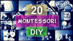 20 Ideen 🌸 Montessori Spiele selber machen ✅