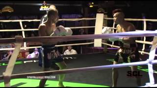 SCL Muay Thai Co-Main Even Keo vs Dylan 115lbs Professional