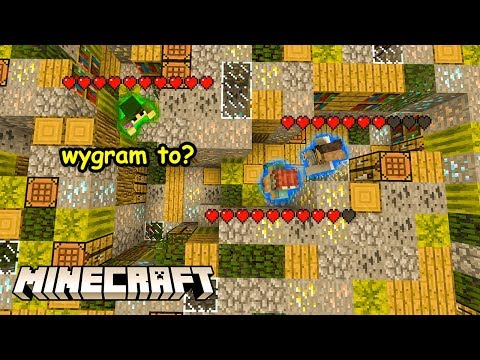 SAM NA 2? WYGRAM? - BLOCKED IN COMBAT MINECRAFT