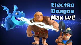 [Clash Royale] Electro Dragon Max Lvl Ladder Gameplay