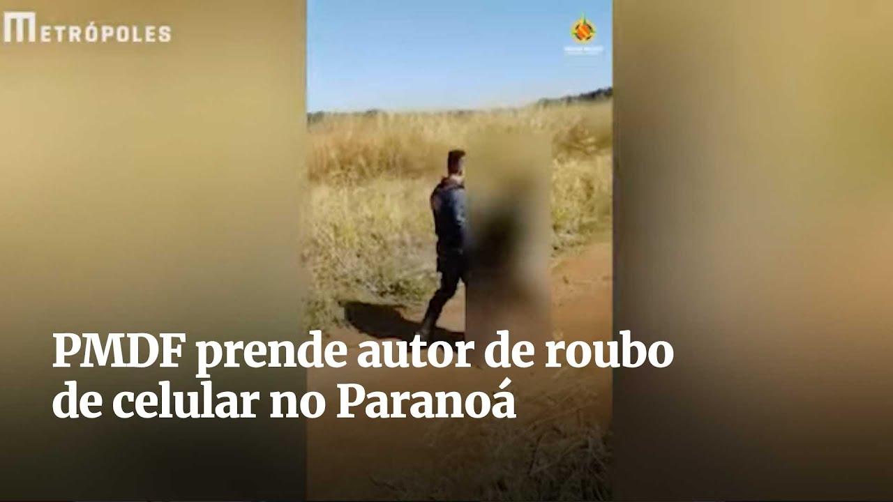 PMDF prende autor de roubo de celular no Paranoá