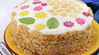 Рецепт торта Медовик со сметанным кремом(Предлагаем приготовить самый вкусный домашний медовик. Приготовить такой торт не составляет особого труда..., 2016-03-09T06:34:27.000Z)
