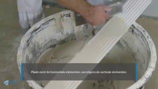 Hoe bekom je een strakke dagkantafwerking? - Aansluiting op pleisterwerk