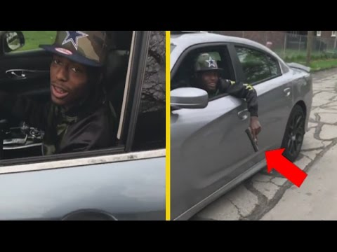 """Snap Dogg """"Rides Around Detroit Looking For The Opps"""""""