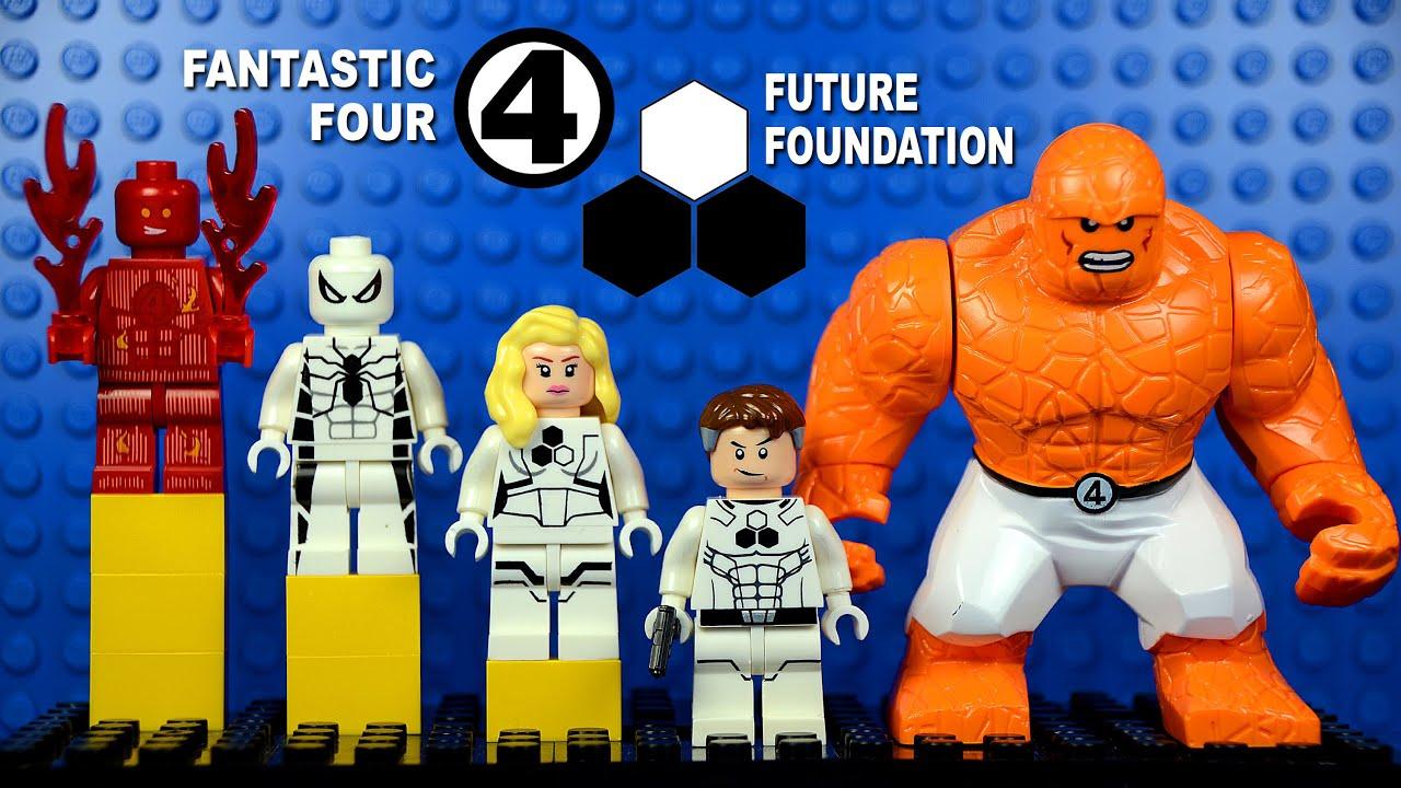 LEGO Future Foundation Fantastic Four Spiderman KnockOff ...