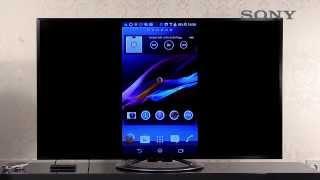 SONY BRAVIA TV - 12 Smartphone App und Bildschirm spiegeln