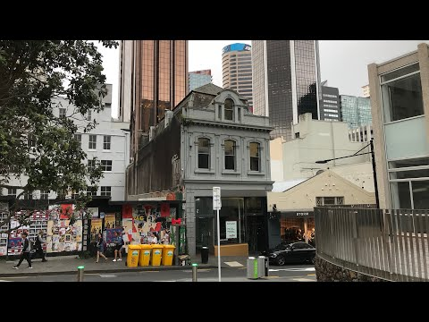 Auckland Downtown New Zealand 2018