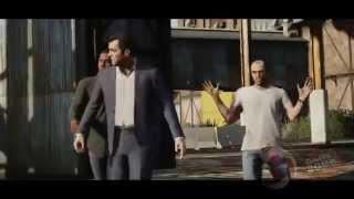 Все трейлеры GTA 5 на Русском  (Майкл,Тревор,Франклин)