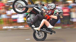 Show do Ação Radical Wheeling São Carlos # Manobras Radicais de Moto