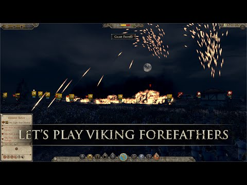 Total War: ATTILA - Let's Play Viking Forefathers