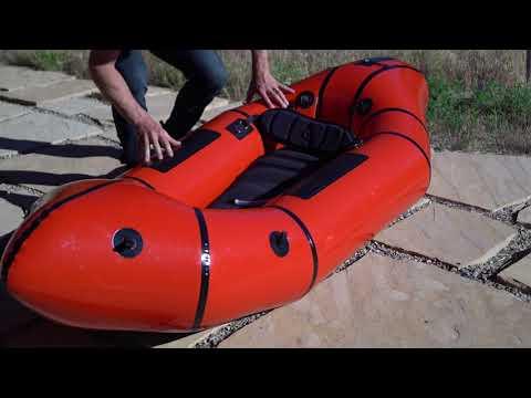 Whitewater Series Set-Up - Alpacka Raft Packrafts