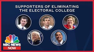 On The Issues: Where The 2020 Candidates Stand On The Electoral College | NBC News Now