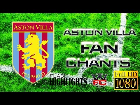 ASTON VILLA FANCHANTS with Lyrics - Best BAGGIES songs ever - LIVE | FULL HD |