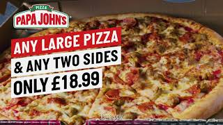 Feast on adventure with Papa John�...