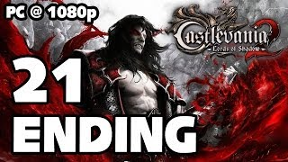 Castlevania: Lords of Shadow 2 ENDING Walkthrough PART 21 (PC) [1080p] No Commentary TRUE-HD QUALITY