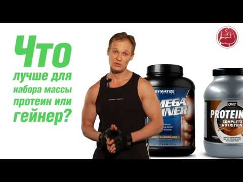 Питание для набора мышечной массы: правильное спортивное