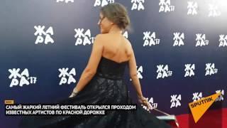 """Парад российских звезд на красной дорожке """"Жары"""" в Баку"""