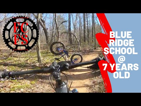 Mountain Biking Blue Ridge School at 7 Years Old!   How To Get Your Kid Into MTB Part 2.
