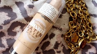 Review Maybelline Dream Satin Skin Foundation spf24 PA Trendy Talks