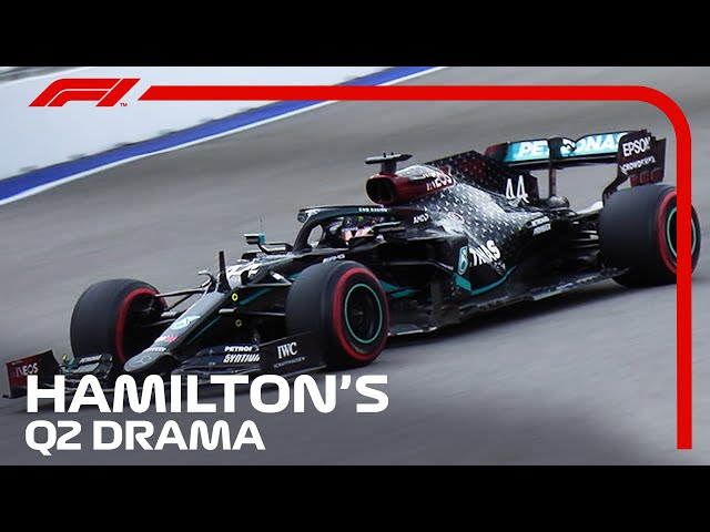 How Lewis Hamilton Escaped Early Qualifying Exit   2020 Russian Grand Prix