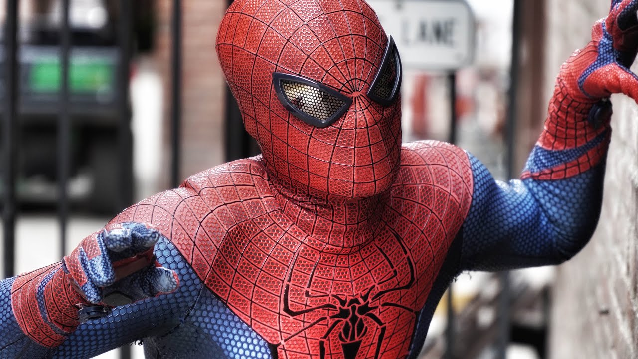 Download Andrew Garfield Painted Spider-Man Costume [ McLean Krieger TASM Suit - Cosplay ]