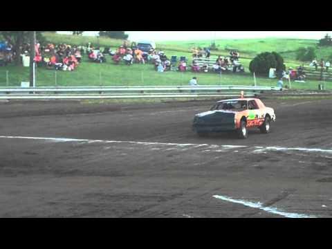 Keokuk County Expo Raceway Figure 8 Stock Class Heat #1