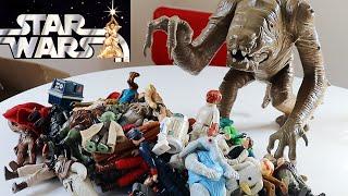 Star Wars Vintage Figure Toy Haul / Unboxing #1: 50+ Figures Plus Rancor Monster! | Rick Adams