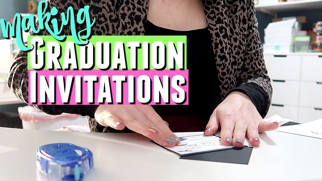 Making your own graduation invitations making graduation making your own graduation invitations making graduation invitations for my etsy shop filmwisefo