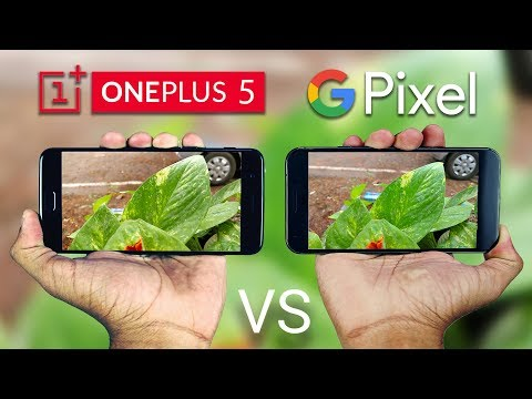 OnePlus 5 vs Google Pixel XL Camera Comparison