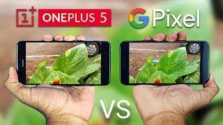 OnePlus 5 vs Google Pixel XL Camera Comparison