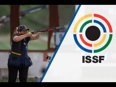Interview with Kimberly RHODE (USA) - ISSF World Cup in all events 2014, Munich (GER)