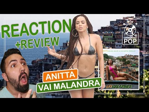 Baixar REACTION    Anitta - Vai Malandra feat. Mc Zaac, Maejor, Tropkillaz & DJ Yuri Martins