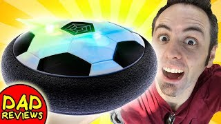 LIGHTED HOVER BALL | PicassoTiles Soccer Hoverball Review