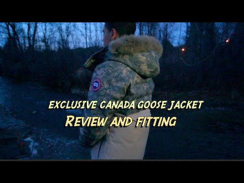 Canada Goose expedition parka online store - EXCLUSIVE CANADA GOOSE JACKET! REVIEW & FITTING - YouTube