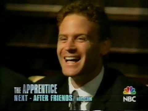 February 5, 2004 - Promo for 'The Apprentice' with Donald Trump