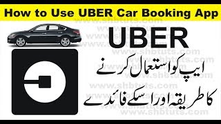 How to use Uber Car Booking App